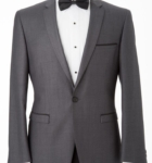 Hire Mens Grey Edge Suit Melbourne
