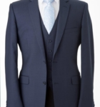 Icon Blue Suit Hire in Melbourne