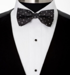 black bow tie for Men