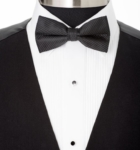 Buy black bow tie for Men