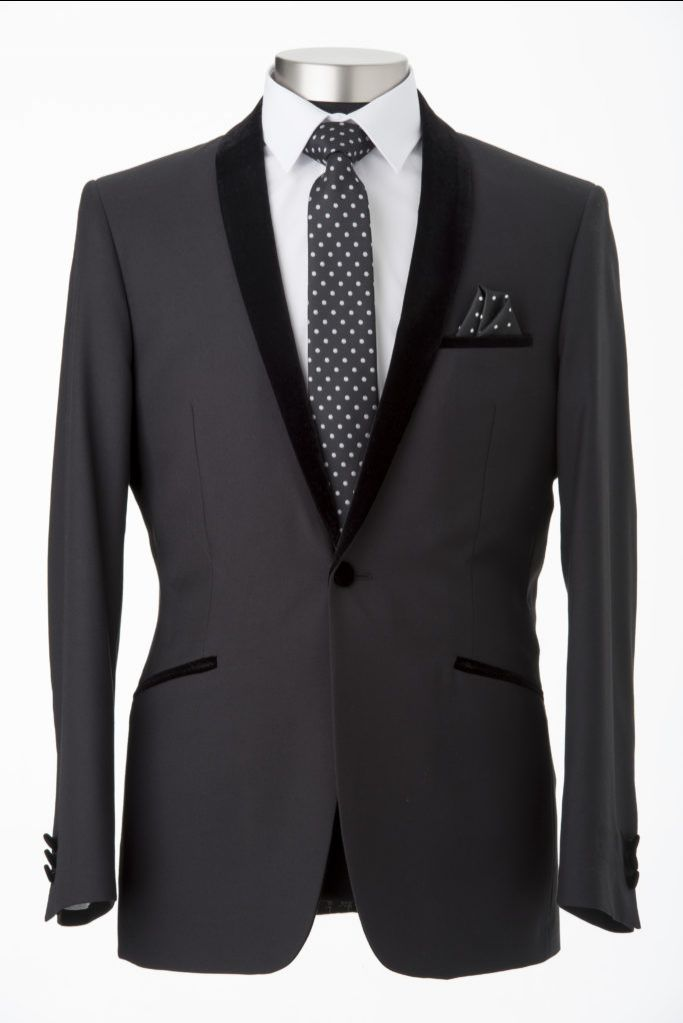 Shop Velvet Shawl Collar Suit Online