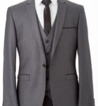 Melbourne Grey Edge Suit Hire