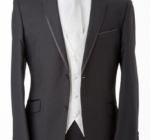Affordable Black Edge Suit Melbourne