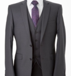 Hire Mens Jet char Suit Melbourne