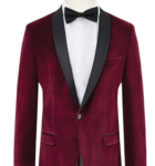 Buy Burgundy Velvet Dinner Jacket Online